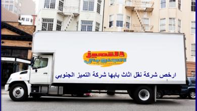 صورة ارخص شركة نقل عفش بابها